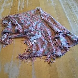 Charming Charlie Accessories - NWT Charming Charlie fringed long scarf